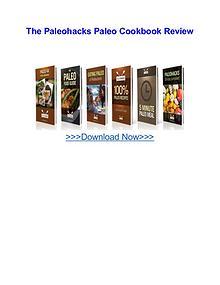 The Paleohacks Paleo Cookbook review
