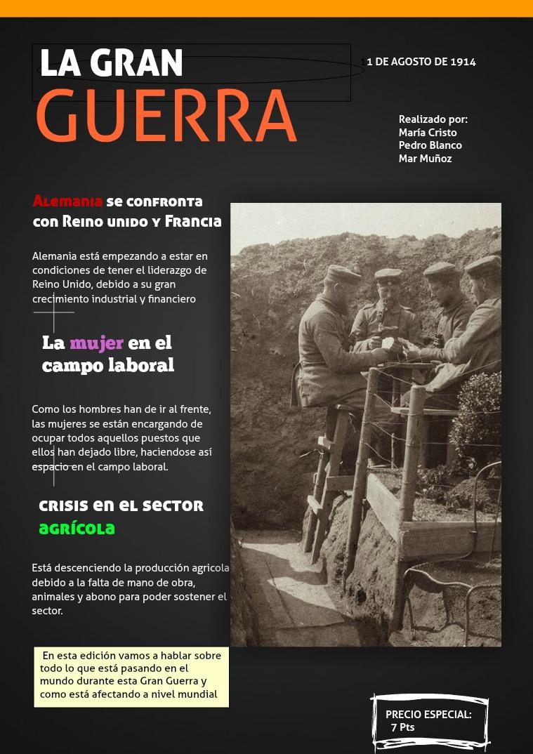 LA GRAN GUERRA 1