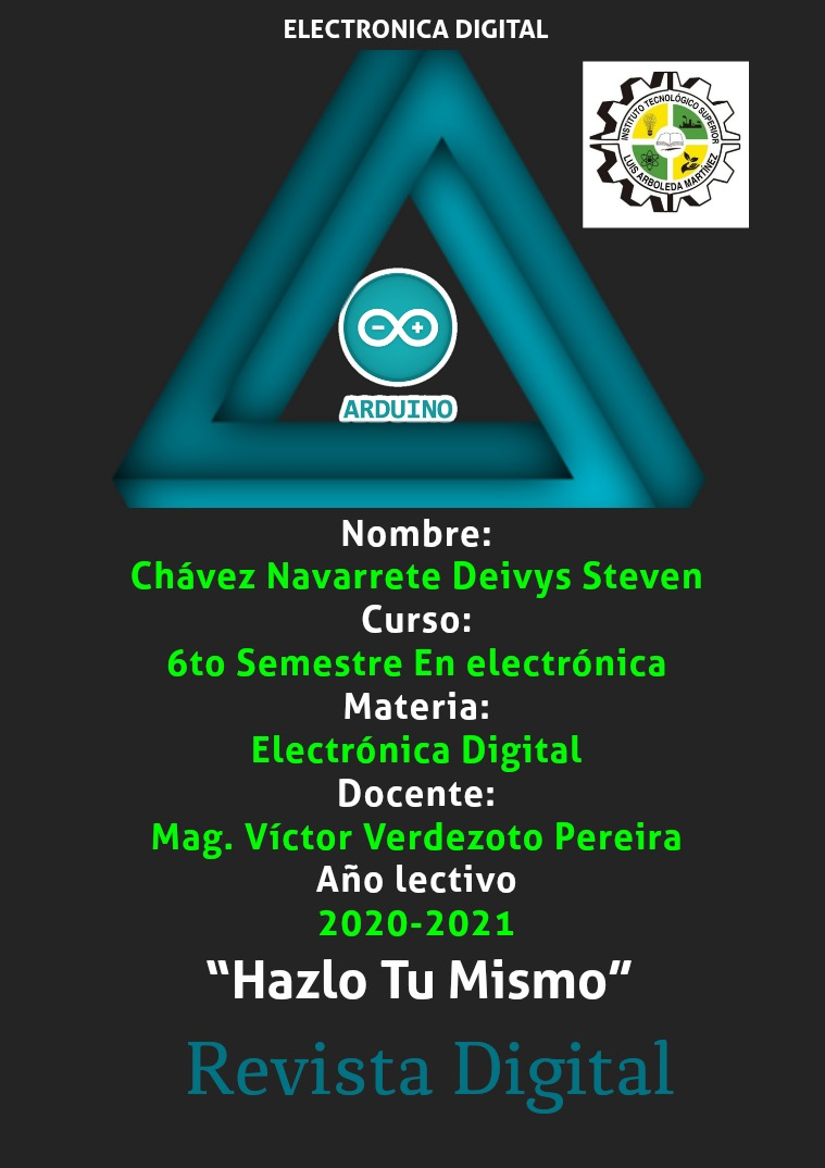 Revista Digital Sexto semestre en electrónica 1