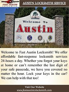 Ausitn Locksmith Service
