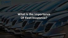 How You Can Get the Best Fleet Vehicle Insurance