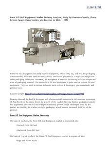 Form fill seal equipment market