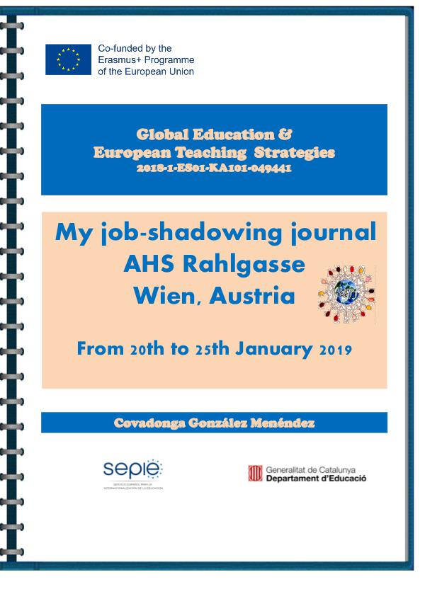 My job-shadowing journal at Wien, Austria Austrian journal