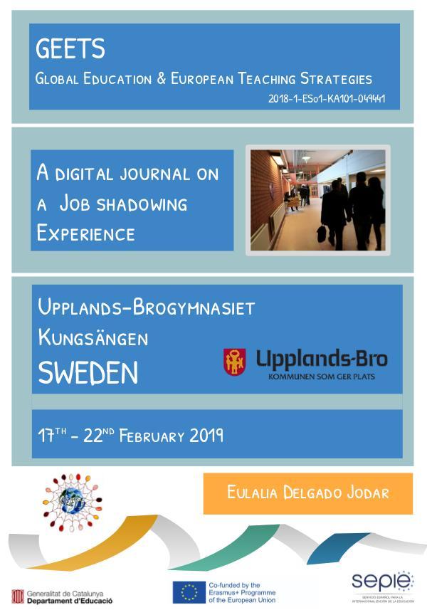 Job shadowing Sweden Eulalia Delgado