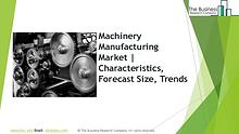 Machinery Manufacturing Global Market Report 2019