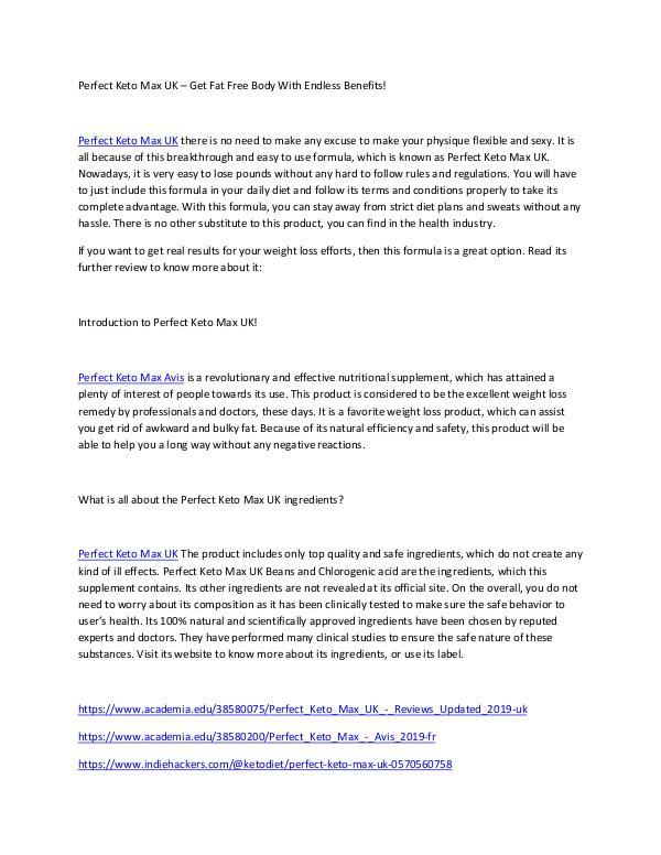 https://www.smore.com/q1fmv-mara-nutra-garcinia-fiyat-tr Incredibly Useful Tips of PERFECT KETO MAX AVIS