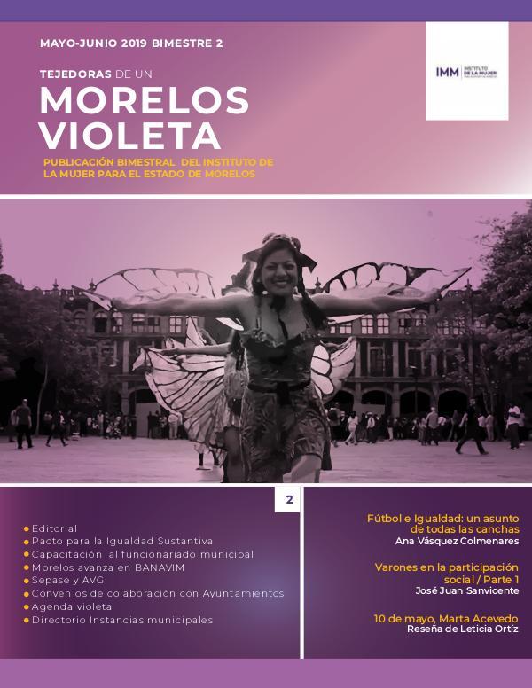 Morelos violeta No.2 Mayo - Junio