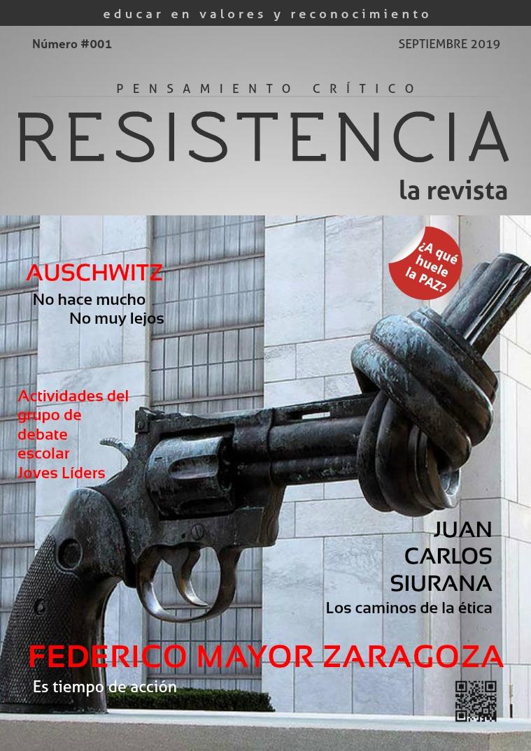 RESISTENCIA, la revista 001