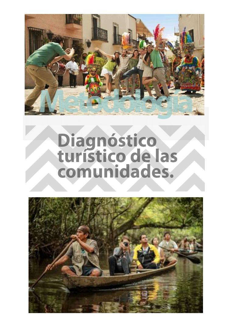 metodología del diagnóstico turístico de las comunidades. metodología