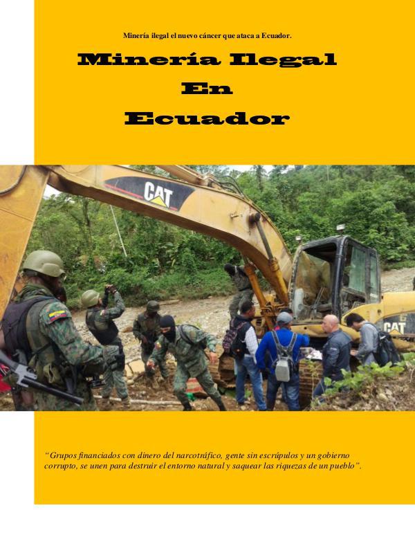 Mi primera publicacion Revsita Ecuador en La Mira