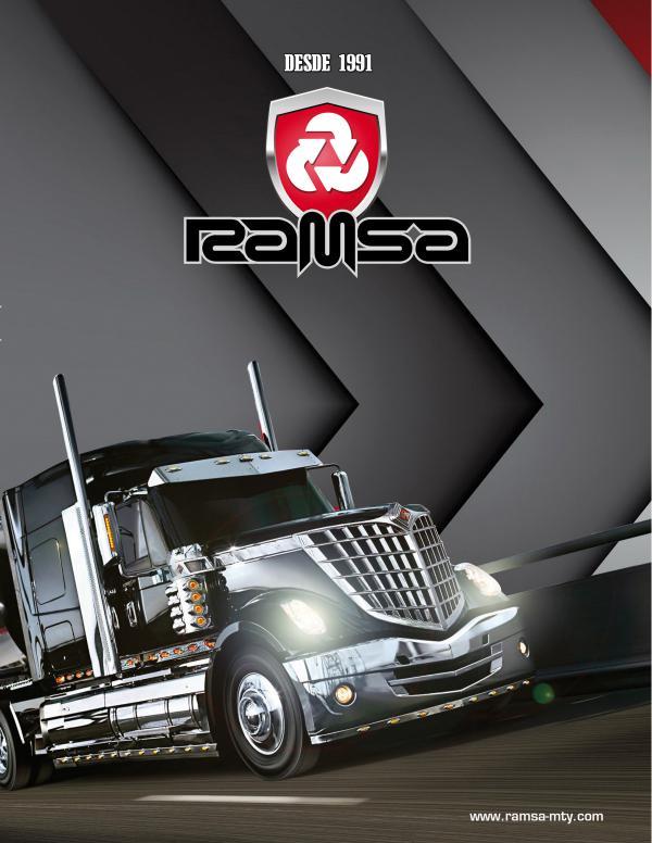 Tractopartes RAMSA Catálogo Ramsa