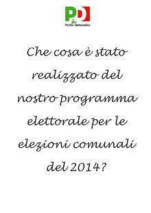 Programma PD 2014