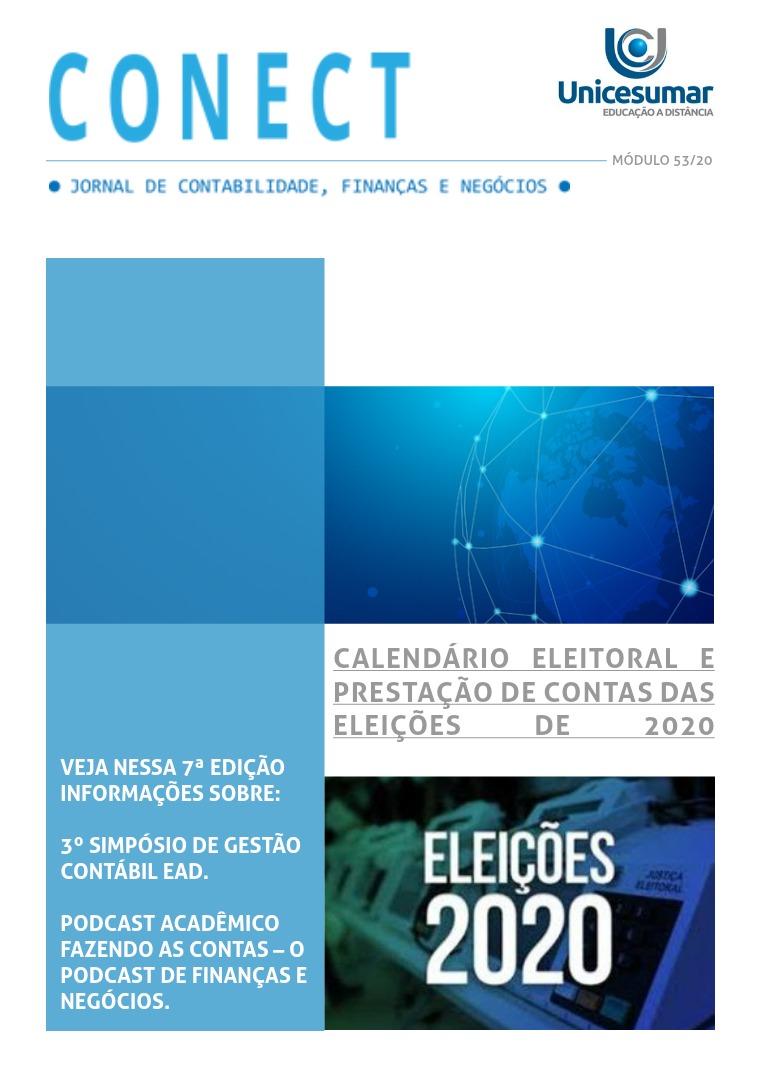 CONECT - JORNAL DE CONTABILIDADE, FINANÇAS E NEGÓCIOS JORNAL DE CONTABILIDADE, FINANÇAS E NEGÓCIOS(clone