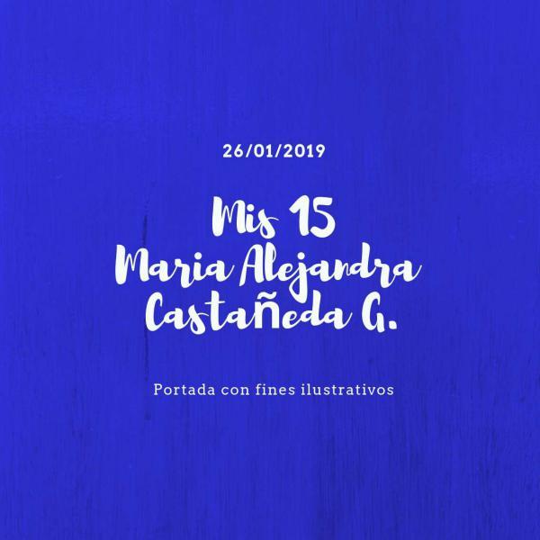 Photobook 15 Años Maria Alejandra