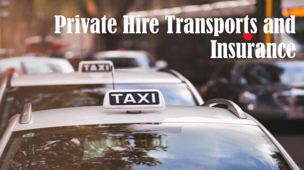 Why do you need to get insurance for your minicab? Private Hire Transports and Insurance