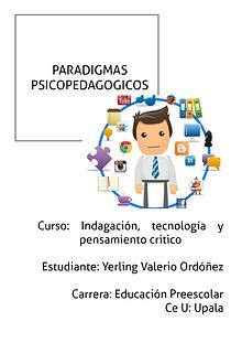 Paradigmas Educativos