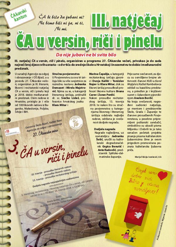 Kapljice 2019. najstariji školski list u SD županiji - 36. izdanje Kapljice 2019. - Podlistak