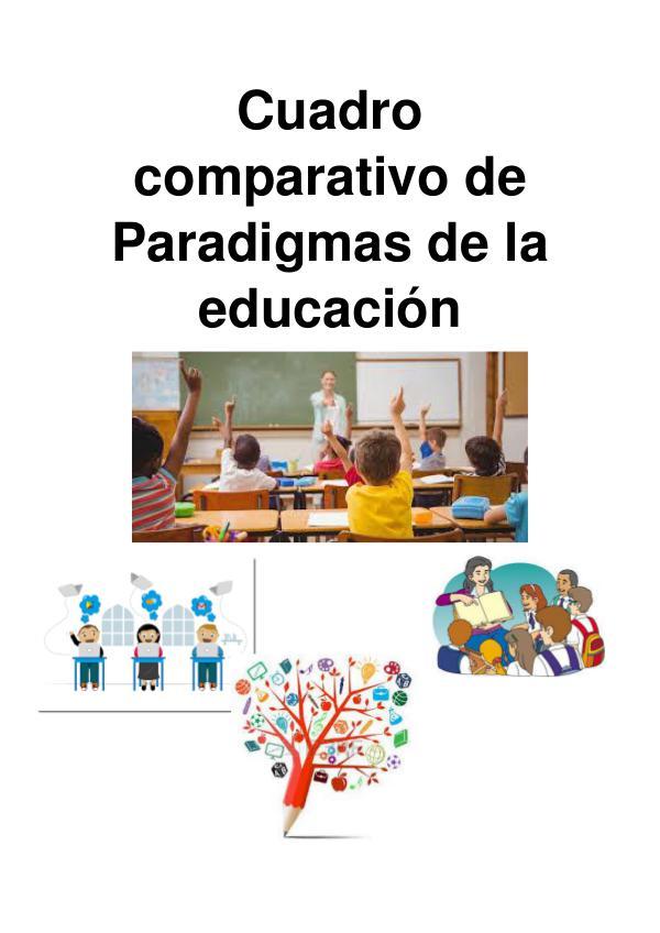Paradigmas de la Educación Para la revista1111