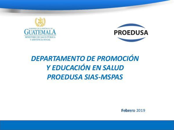 -PROEDUSA- Presentación OPS vfF