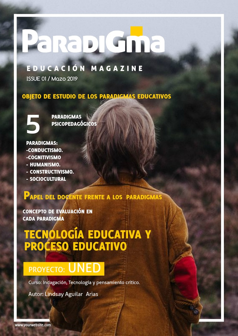 Paradigma PARADIGMAS DE LA EDUCACIÓN
