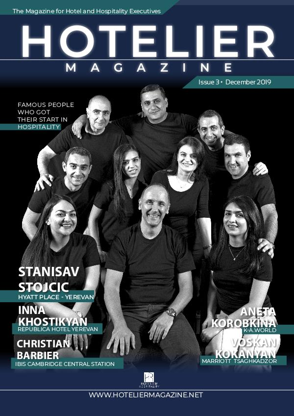 HOTELIER Magazine 3rd Issue (English)