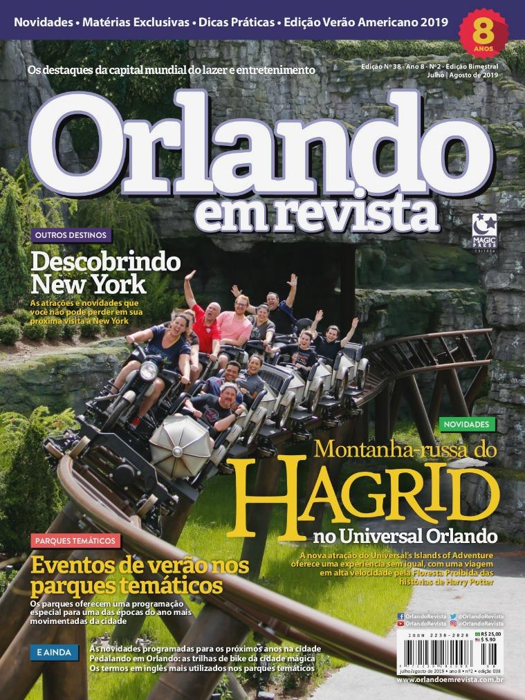 Orlando em Revista Ed. 38 - Julho/Agosto 2019
