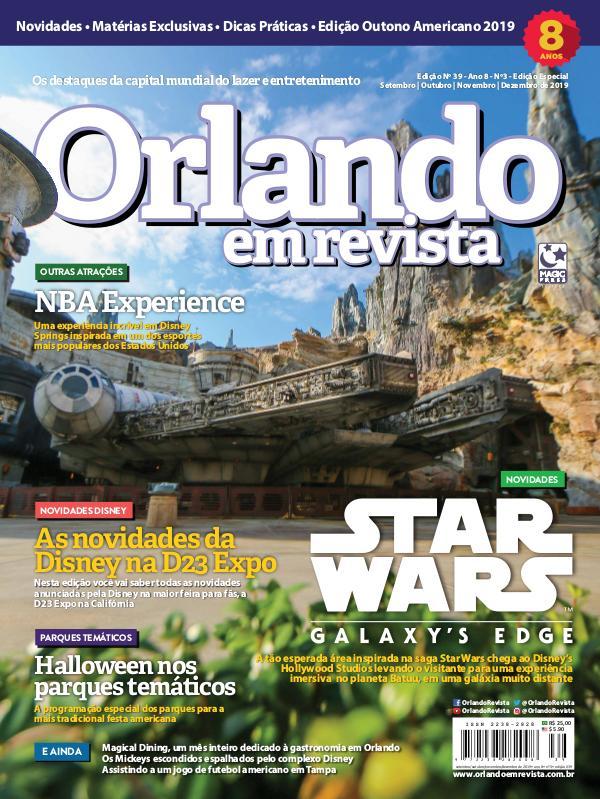Orlando em Revista Ed. 39 - Setembro/Outubro/Novembro/Dezembro 2019