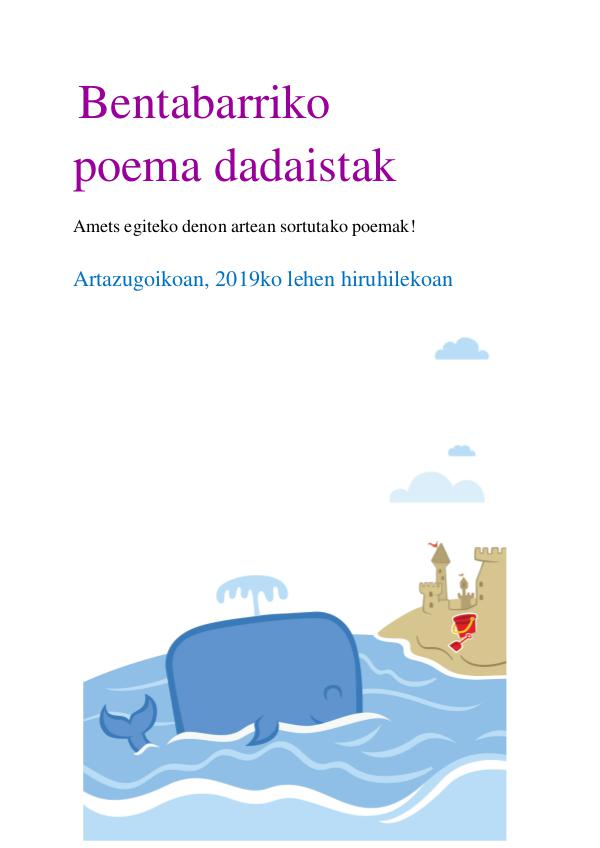 Bentabarriko poema dadaistak Bentabarriko poema dadaistak