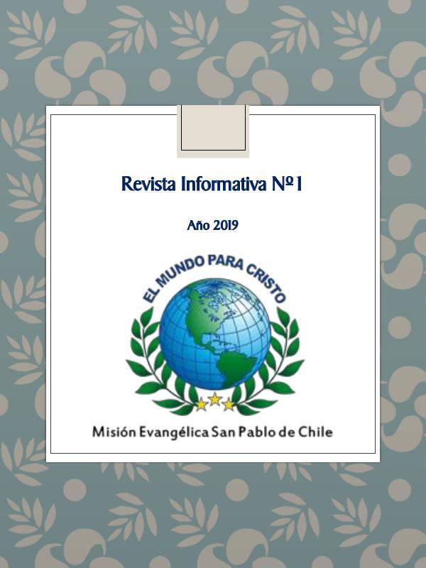 Mi primera publicacion REVISTA DIGITAL MISIÓN EVANGÉLICA SAN PABLO