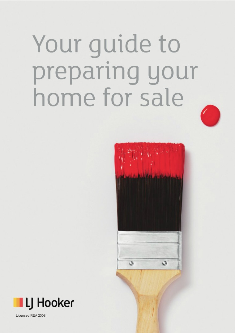 LJ HOOKER EBOOKS Your Guide To Preparing Your Home For Sale