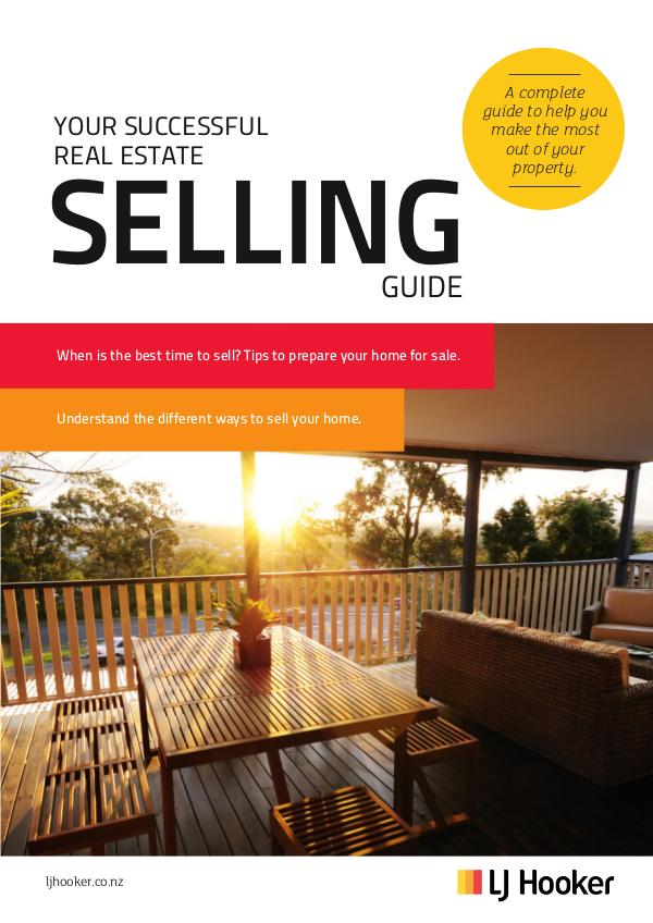 LJ HOOKER EBOOKS Your Successful Real Estate Selling Guide