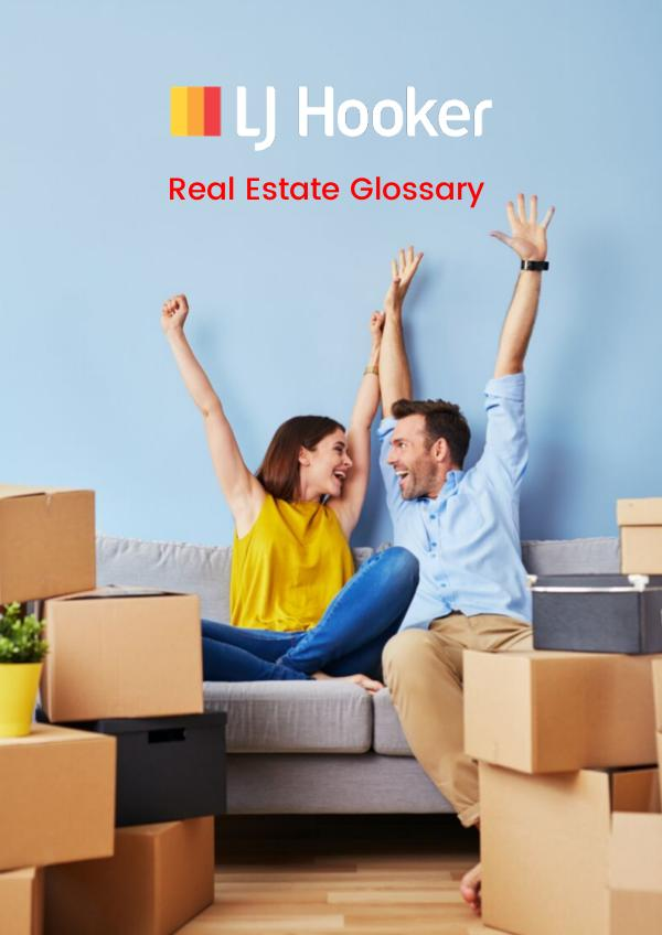 LJ HOOKER EBOOKS Real Estate Terms Glossary