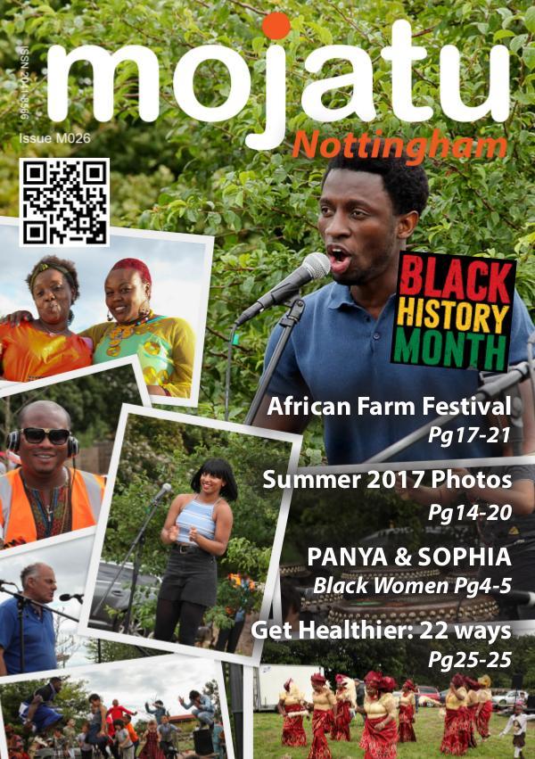 Mojatu Nottingham Magazine Issue M026