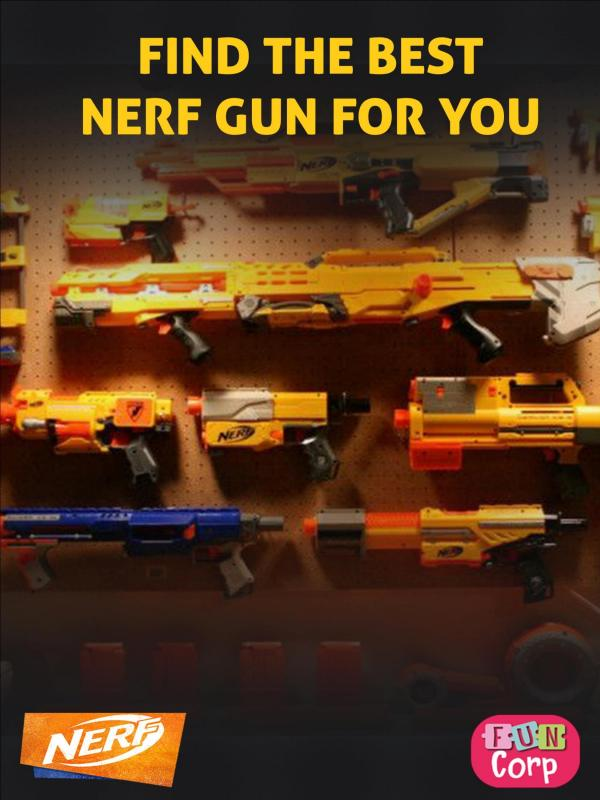 Find The Best Nerf Gun For You