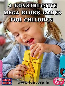 4 Constructive Mega Bloks Games for Children