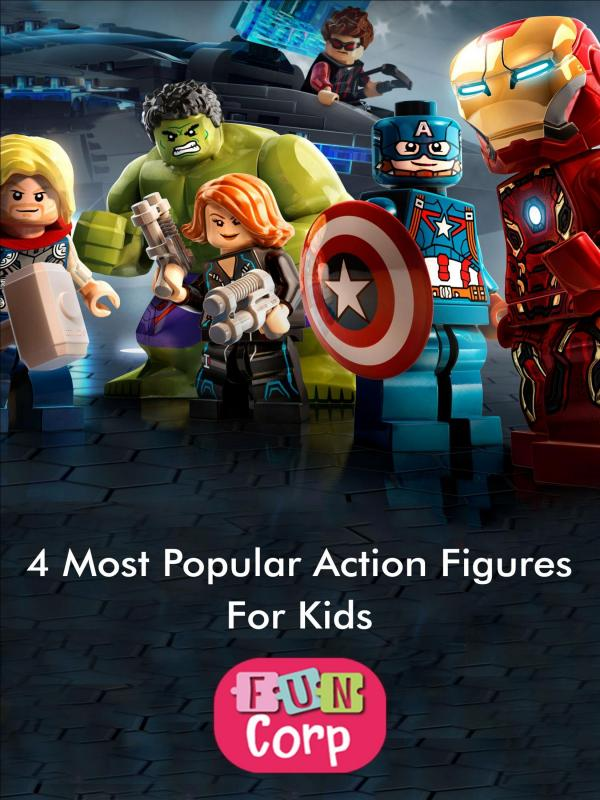 5 Most Popular Action Figures for Kids 4 Most Popular Action Figures for Kids-converted