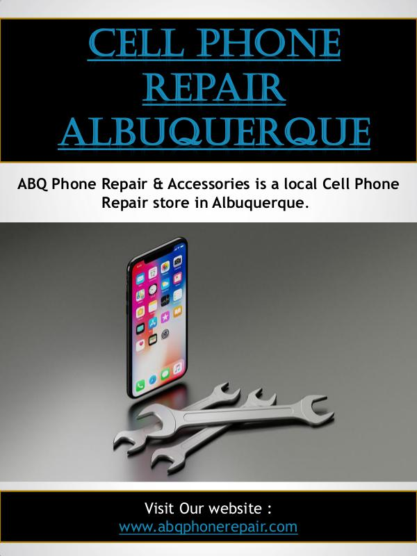 Cell Phone Repair Albuquerque