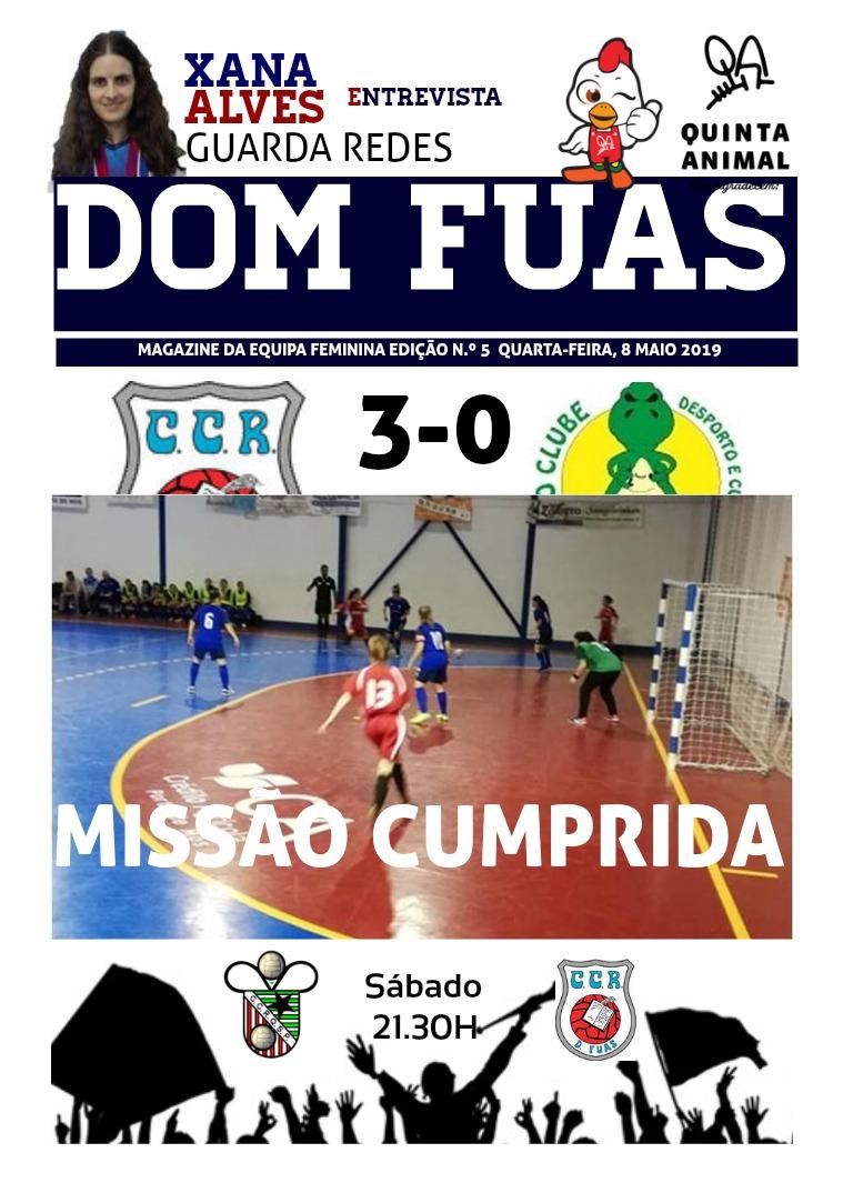 DOM FUAS MAGAZINE EDIÇÃO N.º 5 DE 10 DE MAIO DE 2019