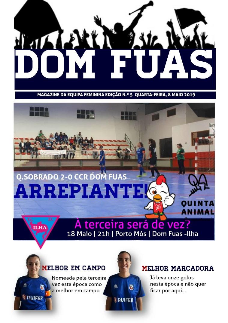 DOM FUAS MAGAZINE EDIÇÃO N.º 6 DE 15 DE MAIO DE 2019