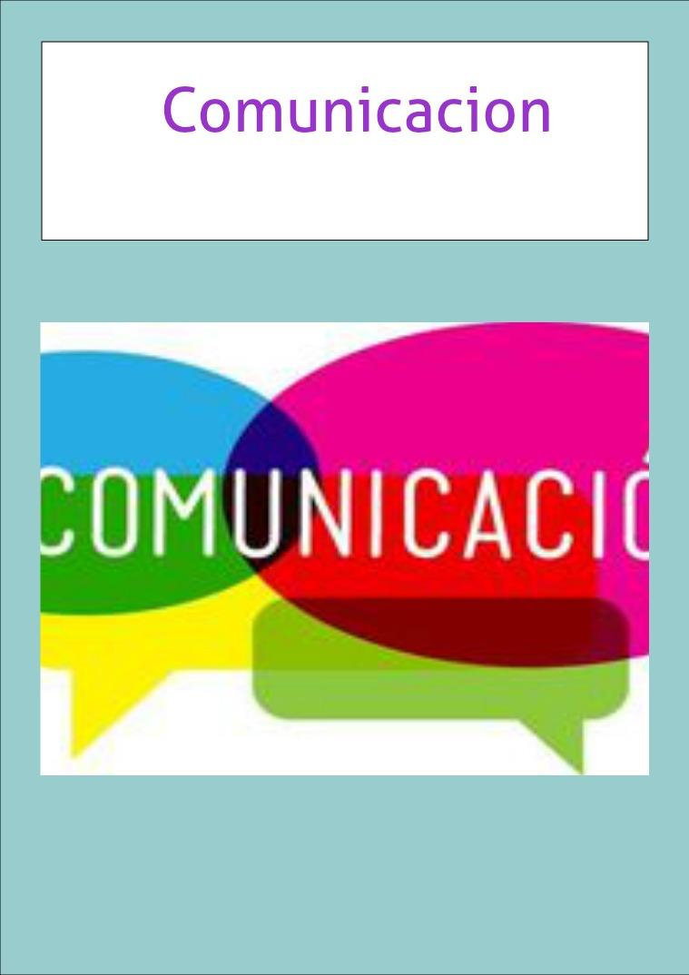 COMUNICACION comunicacion