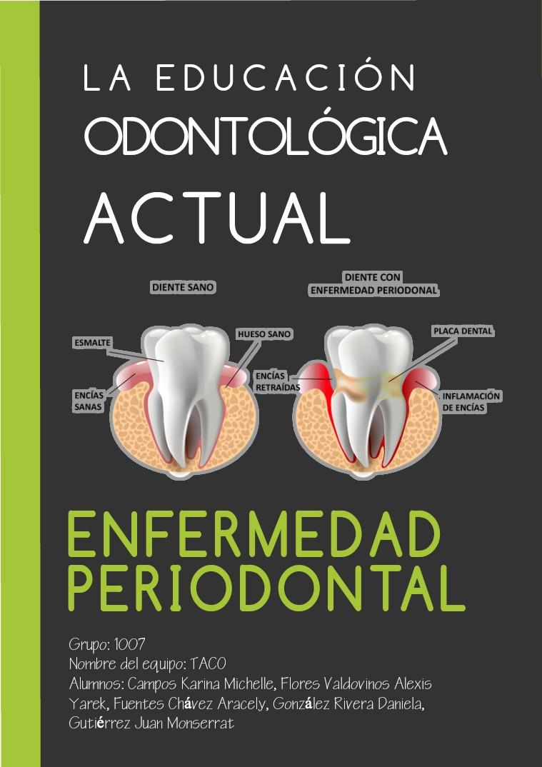 La educación odontológica actual 1