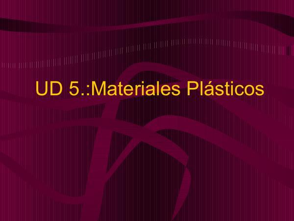LOS PLASTICOS plastico