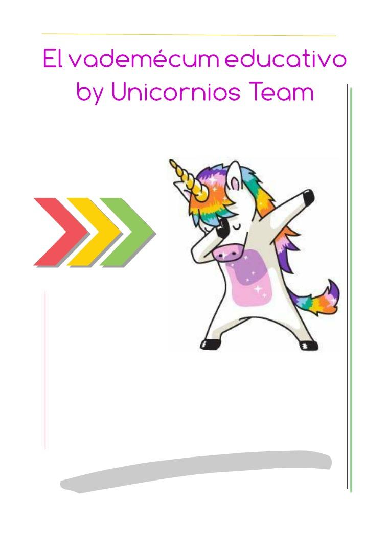 El vademécum educativo by Unicornios Team Marzo 2019