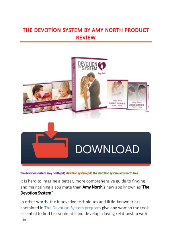 Devotion System Pdf Download Amy North 2019
