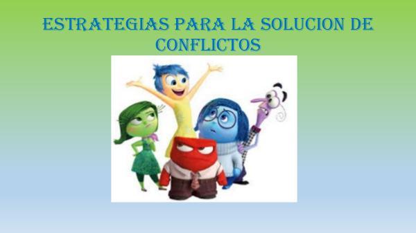 SOLUCIÓN DE CONFLICTOS libro de conflictos trabajo final