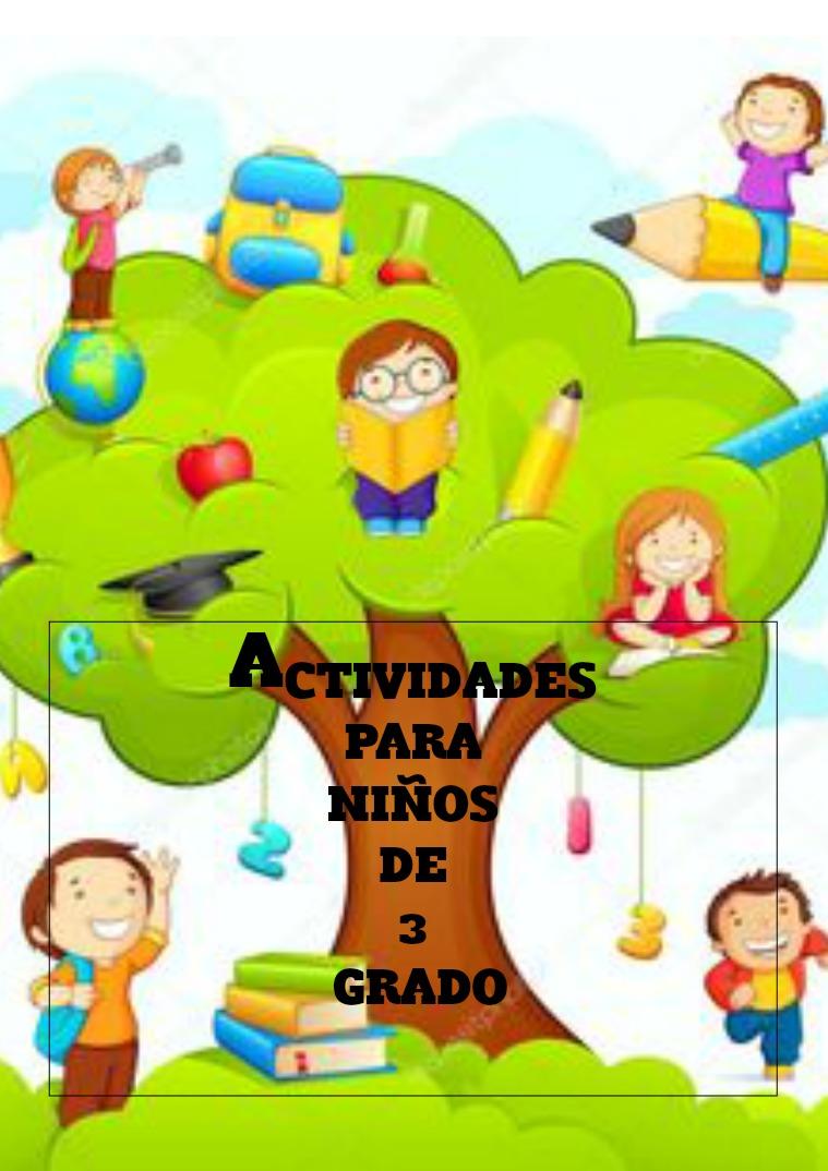 actividades de 3 grado alaborada por jeronimo