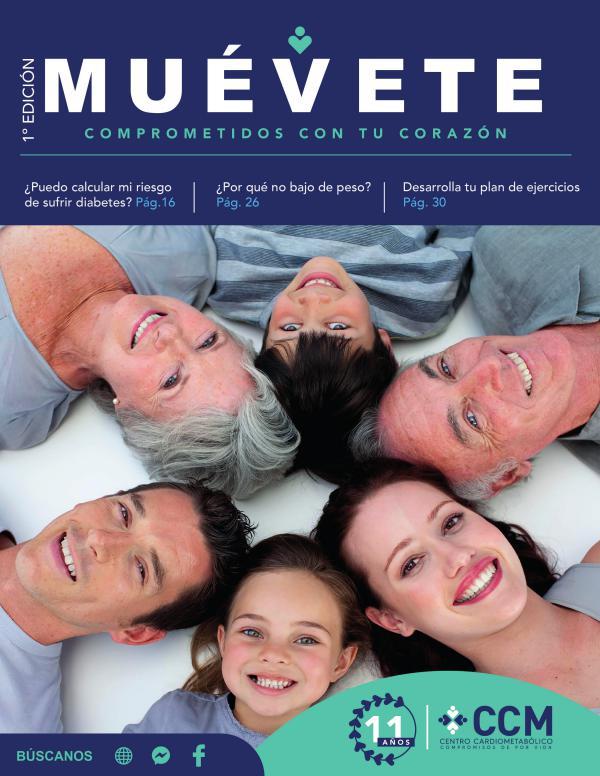 Revista Muévete - 1era edición Revista Muévete
