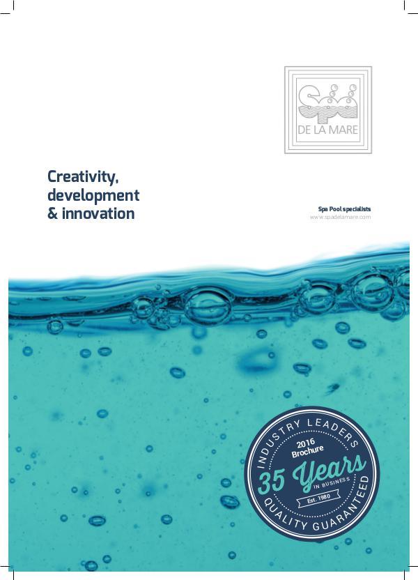 Spa De La Mare  Brochure SDLM Brochure