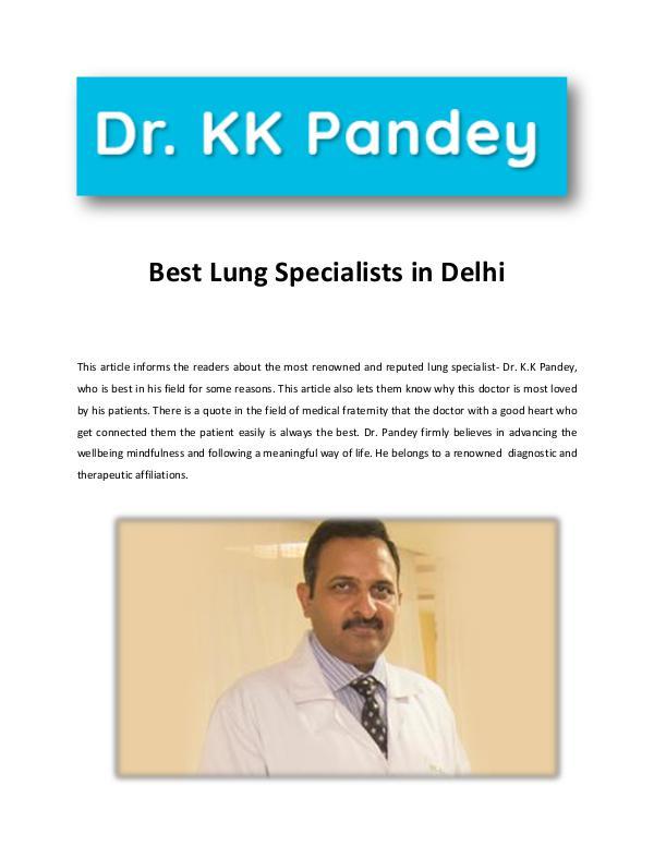 Best Pulmonologist in Delhi best lung specialiist in delhi