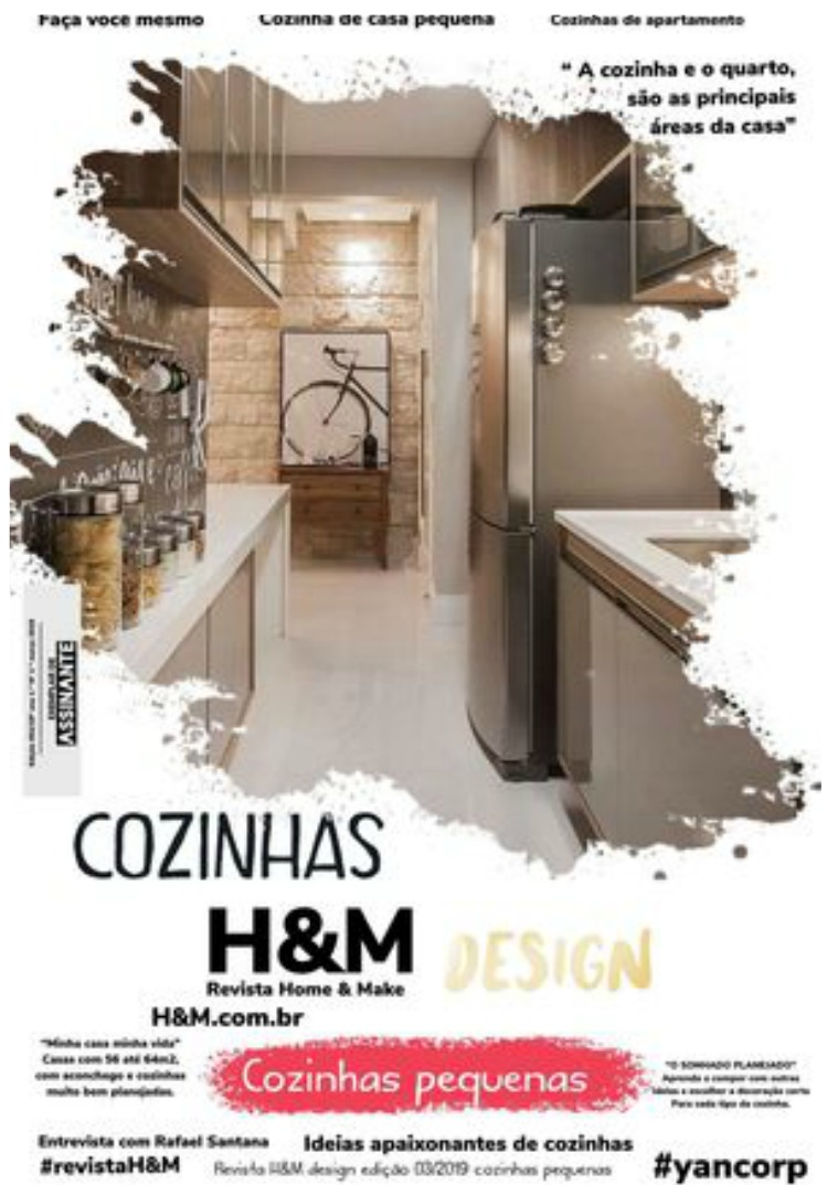 H&M design COZINHAS PEQUENAS 2019